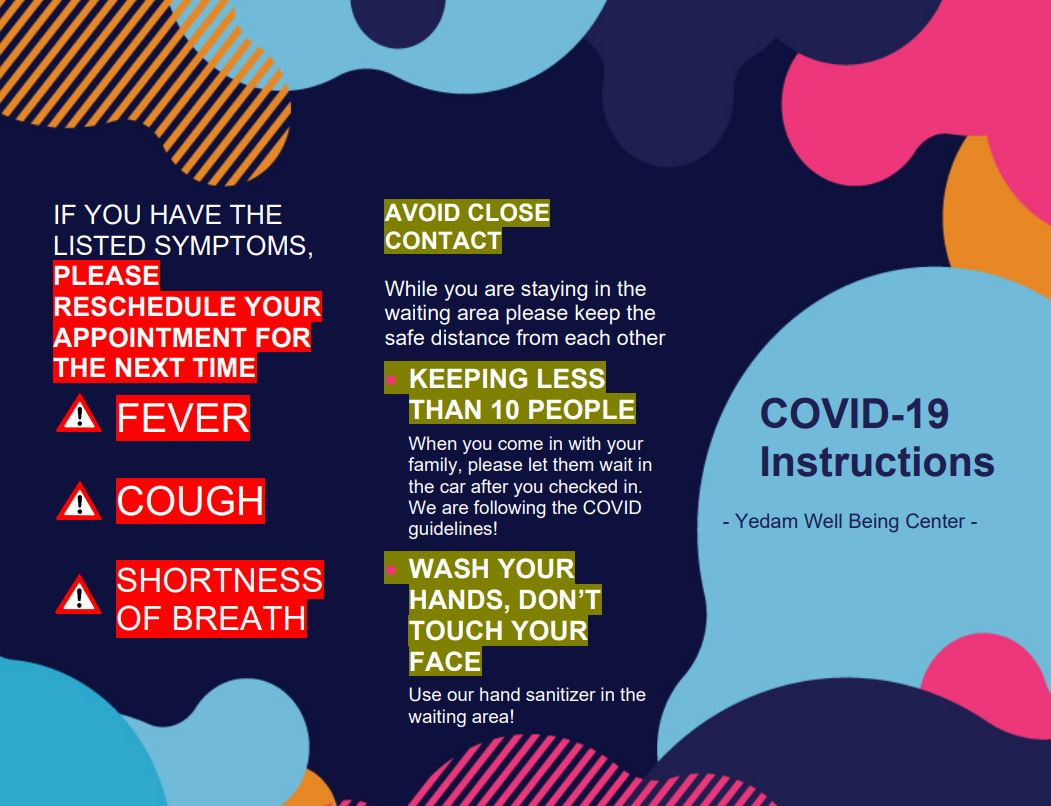 Covid19 instruction